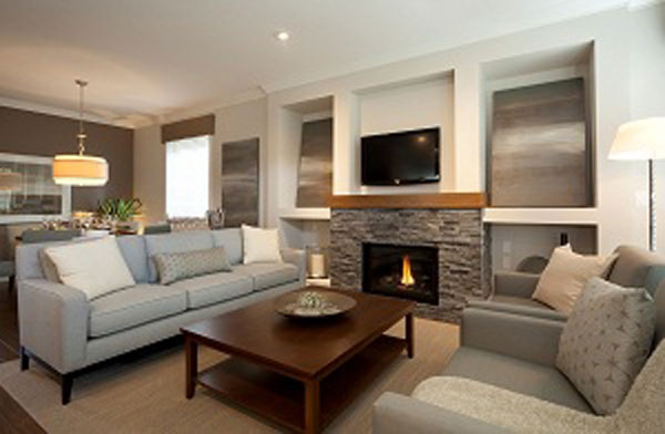 Summerfield In South Surrey Showhome 2 Living Room